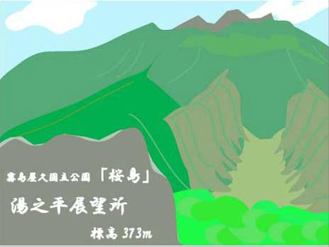 桜島展望台